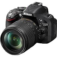 Nikon D5200 SLR-Digitalkamera (24,1 Megapixel, 7,6 cm (3 Zoll) TFT-Display, Full HD, HDMI) Kit inkl. AF-S DX 18-105 mm…