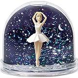 Schneekugel Reh Schüttelkugel mit Schneeflocken und Glitzer 37903 Spieldosen moses