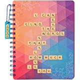 Amazon Brand - Solimo B5 Notebook, 80 GSM, 160 Pages (Love)