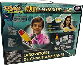 Science Time Fun Chemistry Lab STEM Interactive Multi-Experiment Kit For Kids