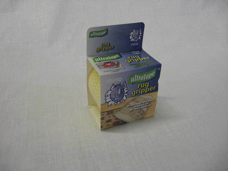 Ultratape Rhino Rug Carpet Mat Gripper Tape 48mm X 4.8m: Amazon.co.uk: DIY  U0026 Tools