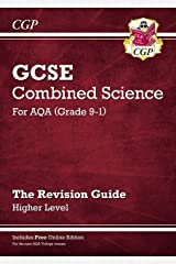 Grade 9-1 GCSE Combined Science: AQA Revision Guide with Online Edition - Higher (CGP GCSE Combined Science 9-1 Revision) Paperback