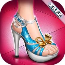 Tacones altos zapatos chicas - juego de zapatos para niña y los niños ! gratis