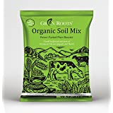 Green Roots Organic Potting Soil Mix with Cocopeat, Vermicompost, Neem Granule, Plant Manure/Khad, 1 KG