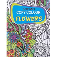 Amazon Brand - Solimo Copy Colour for Adults - Flowers