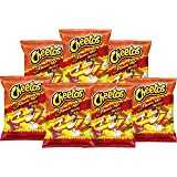American Flamin Hot Cheetos (77.9g 7 Pack) Famous Spicy Cheesy Chili Corn Crisps Snacks Classic Popular Fun Bag Bulk Deal Fan