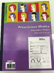 Blocco progettazione tecnica dispositivi medici 50x2 autoricalcante f.to 22x29,7 E5852A EDIPRO