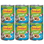 Purina Friskies Pate Ocean Whitefish & Tuna Dinner Wet Cat Food - 13 oz. Can (6 Cans)