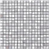 BeNice Pegatinas De Azulejos De Metal Para Cocina, Autoadhesivas, Mosaicos De Pared, Azulejos De BañO, Pelar Y Pegar, 26.5 X