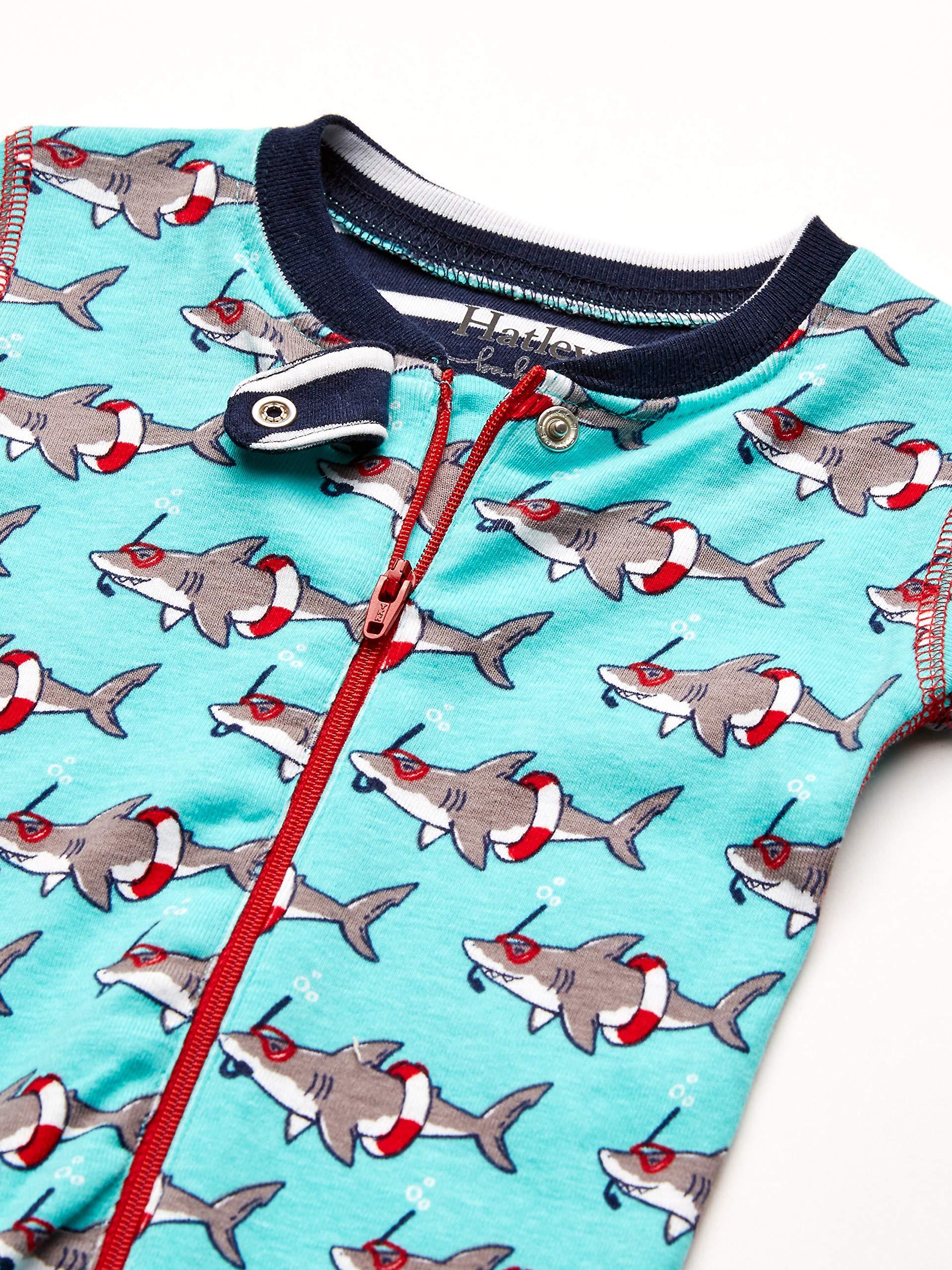 Hatley Organic Cotton Sleepsuit Pelele para Dormir para Bebés 4