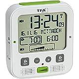 TFA-Dostmann 60.2538.02 Boom väckarklocka högpresterande radiostyrd