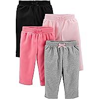 Simple Joys by Carter's 4-Pack Fleece Pants Bébé Fille
