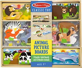 Melissa & Doug Animal Picture Boards