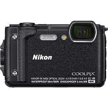 Nikon COOLPIX W300 Cámara compacta 16MP 1/2.3 CMOS 4608 x 3456Pixeles Negro - Cámara digital (16 MP, 4608 x 3456 Pixeles, CMOS, 5x, 4K Ultra HD, Negro)