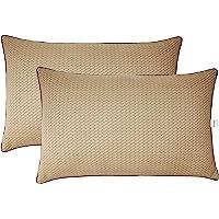 Amazon Brand - Solimo 2-Piece Premium Bed Pillow Set