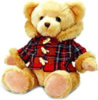 لعبة الدب كييل هميش مع معطف تارتان - 25 سم, 25cm Tall