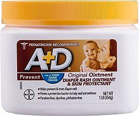 A&D Diaper Ointment Jar, 1lbs
