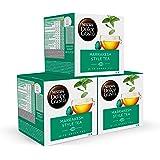 Nescafé DOLCE GUSTO té MARRAKESH Style Tea, Pack de 3 x 16 Cápsulas - Total: 48 Cápsulas de té