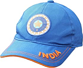 hhumanmakerr Men's Cotton Sports Casual Cricket Cap Team India ODI | T20 | IPL Supporter, Free Size(Blue, Sportscap_1)