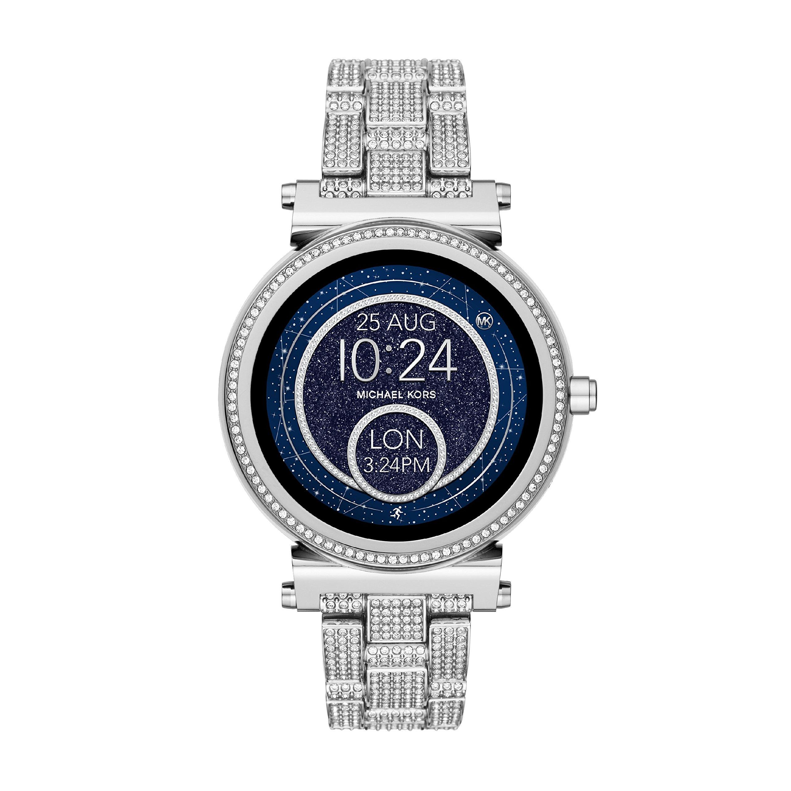 1d2187e1b7b1 Michael Kors Damen Digital Uhr mit Edelstahl Armband MKT5023 ...