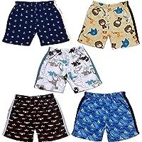 TotzTouch Boys & Girls Regular Shorts (Pack of 5)