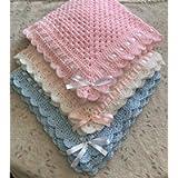 Hand Crochet Baby Blankets