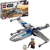 LEGO 75297 Star Wars X-Wing de la Résistance Jouet Starfighter pour Les Enfants de 4 Ans et avec La Minifigurine de Poe Damer