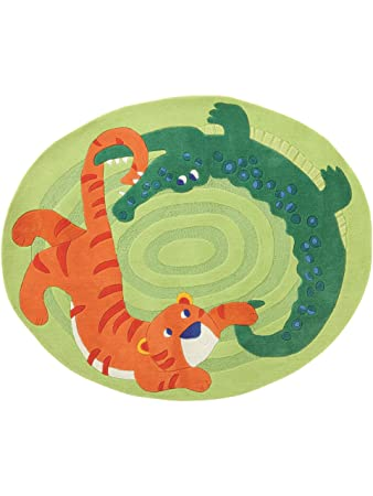 amazon.de: haba teppiche kinderzimmer kinderteppich zoo grün ... - Haba Kinderzimmer Deko