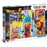 Clementoni 29761 Supercolor puzzel – Dragon Ball Super – 180 delen, meerkleurig