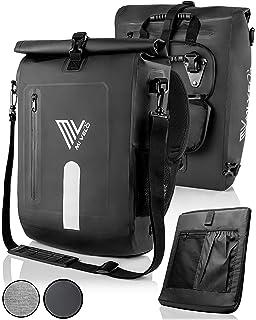 YourVelo 25L Volumen Fahrradtasche für Gepäckträger mit Laptopfach