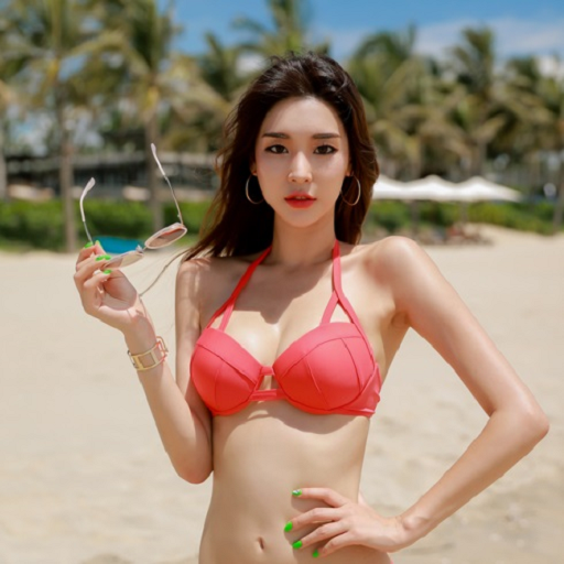 Hot sexy korean bikini you