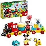 LEGO 10941 Duplo Disney Mickys och Minnies födelsedagskalas, leksak för småbarn med födelsedagstårta och ballonger