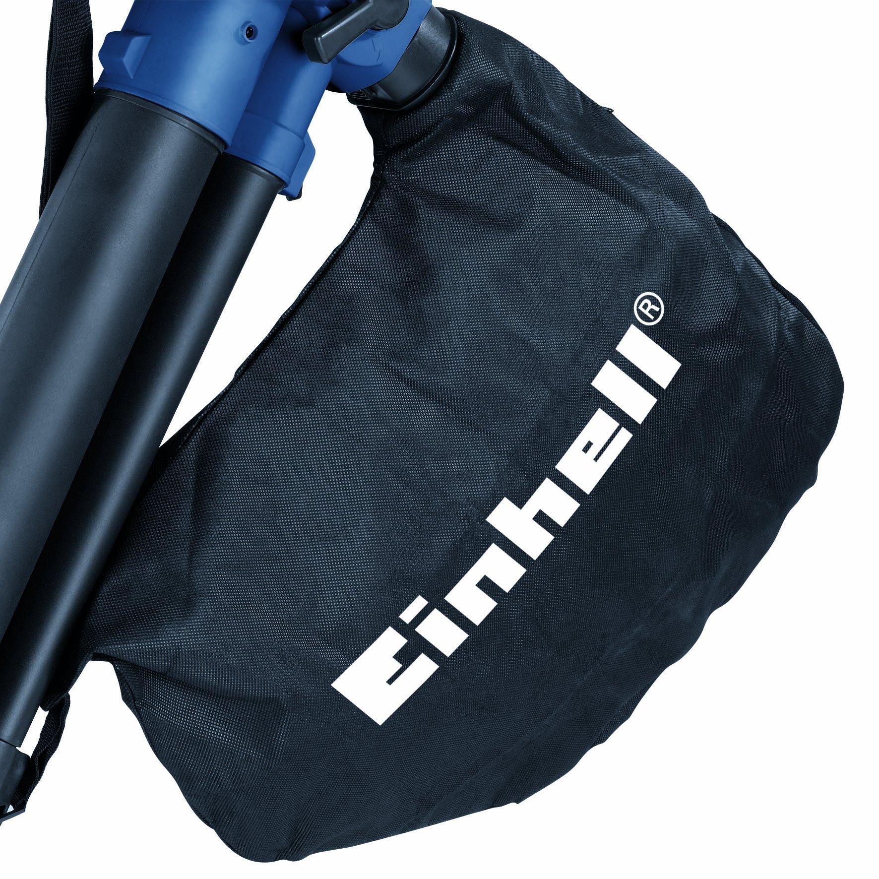 Einhell Elektro-Laubsauger/Bläser/Häcksler BG-EL 2500/2 E, bis 240 km/h, 40 L Fangsack