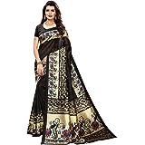 ANNI DESIGNER silk with Blouse Piece Saree (KALYAN-MUSTARD_ Peach Orange_ Free Size)