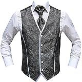 MUGA  Men's Sleeveless Wedding Waistcoat