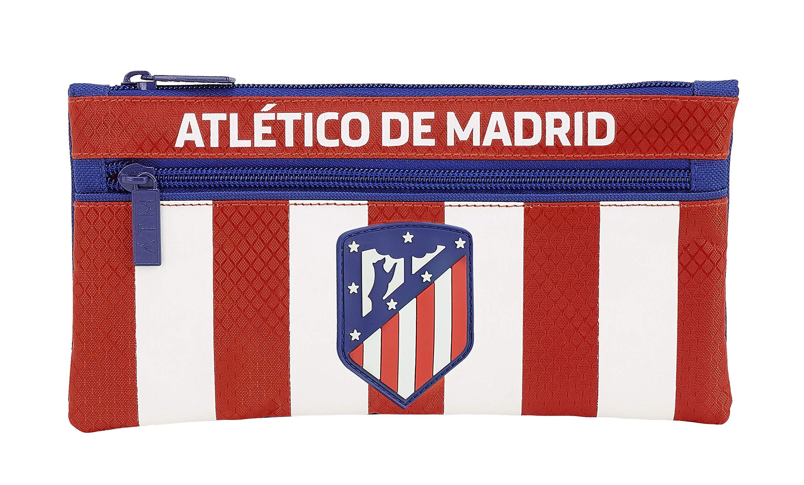 Atletico De Madrid 811845029 2018 Estuches, 22 cm, Rojo