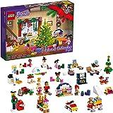 LEGO 41690 Friends adventkalender 2021 Minimodellen Set, Kerstspeelgoed voor Kinderen met 5 Micropoppen