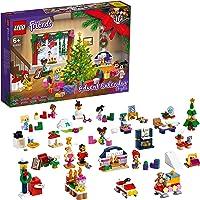 LEGO 41690 Friends Adventskalender 2021 mit Weihnachtsspielzeug für Jungen und Mädchen mit 5 Mikropuppen Kinder