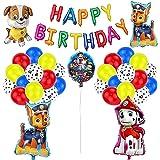 Decoración Cumpleaños Patrulla Canina Globos Patrulla Canina Pancarta Cumpleaños Patrulla Canina Balloons Dog Patrulla Canina