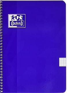 Oxford 001 International Notizblock 80 Seiten A4 5 St/ück orange//grau