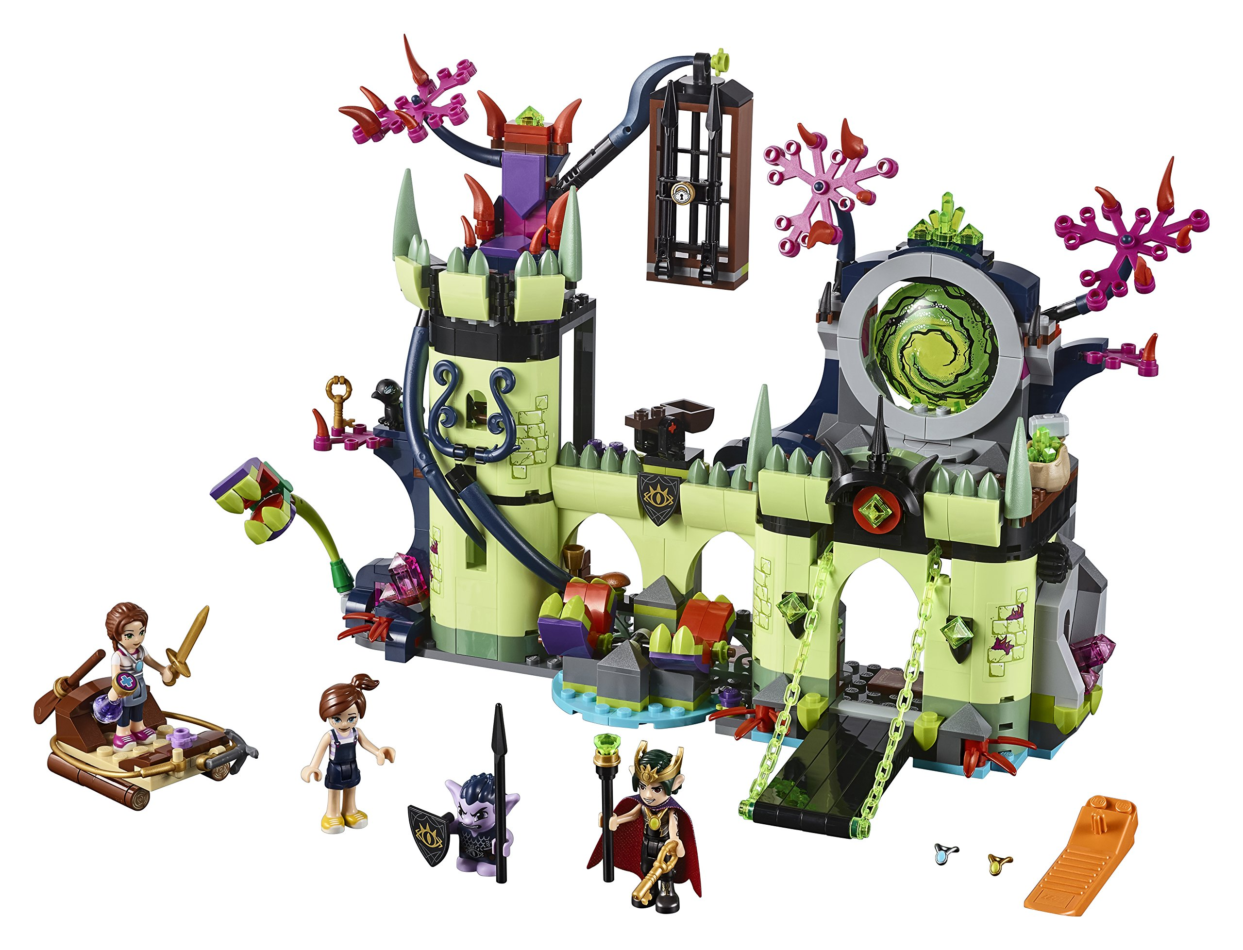LEGO-Elves Evasione dalla Fortezza del Re dei Goblin Costruzioni Piccole Gioco Bambino, Multicolore, 804709 2 spesavip