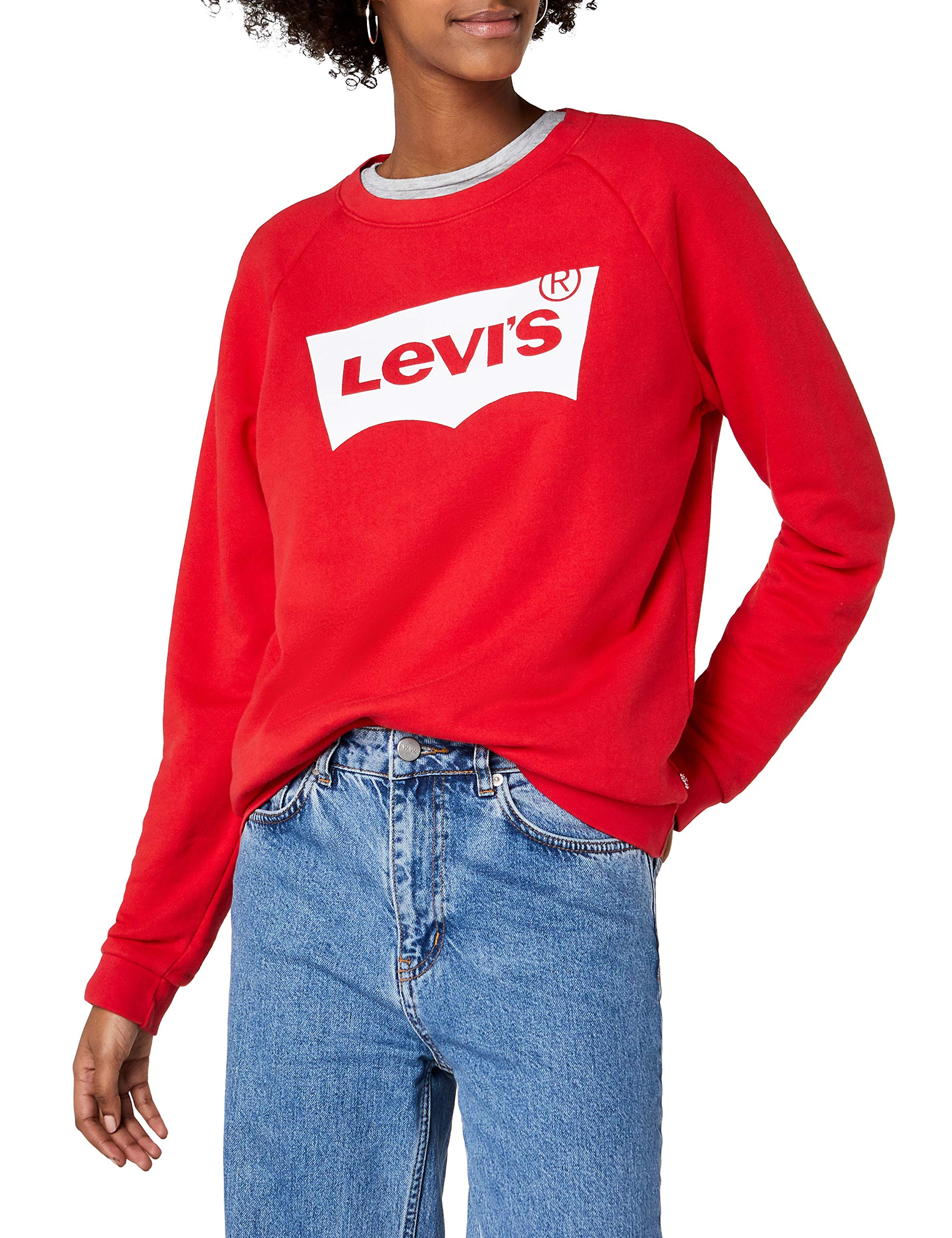 Graphic DonnaRossobetter Relaxed Fleece Levi's CrewFelpa Qtdshr