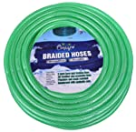 CINAGRO™ - Heavy Duty 3 Layered Braided Water Hose Pipe Garden, Car Wash, Floor Clean, Pet Bath, Easy to Connect