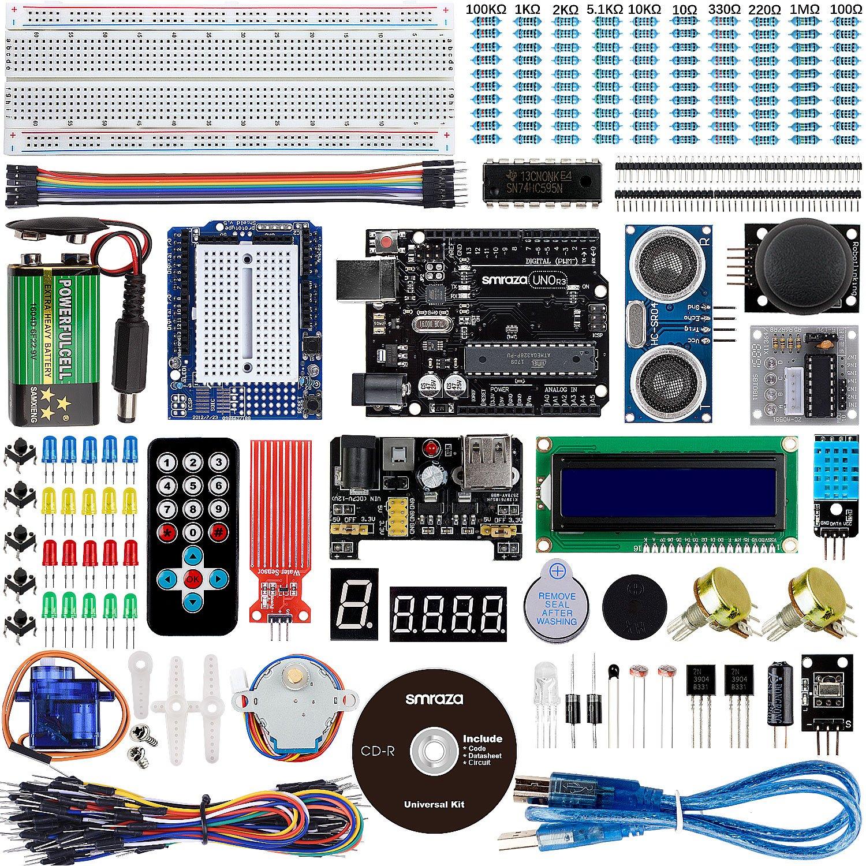 Smraza Para Arduino Uno R3 Starter Kit Guas Tutorial Detallada Circuito Thermistor Amazon Prime