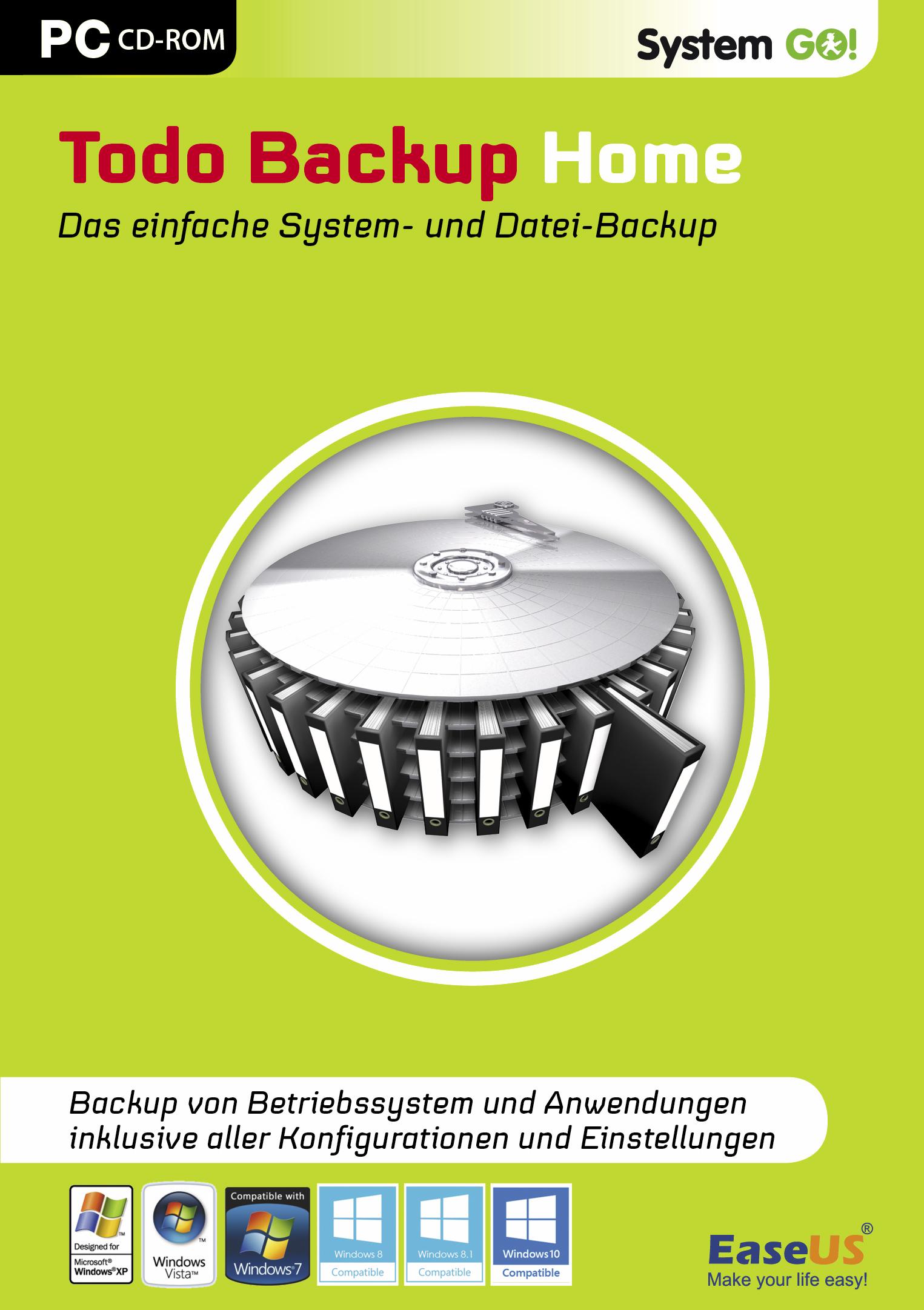 EaseUS System GO! Todo Backup Home [Download]