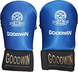 Kai Approved Goodwin Karate Hand Gloves Size-Medium-Good Quality Cloth Covered