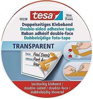 9mm 3mm 6mm 4mm 15mm 50m Doppelseitiges Klebeband transparent /& handreißbar