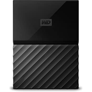 WD My Passport 2TB Portable External Hard Drive (Black)
