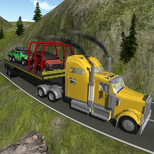 LKW-Anhänger 4 x 4-Cargo