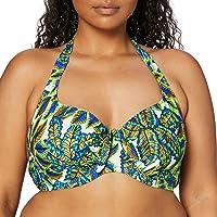 Pour Moi Heatwave Halter Underwired Top Parte Superiore del Bikini Donna